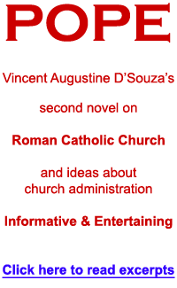 Pope Novel - Vincent Augustine D'Souza