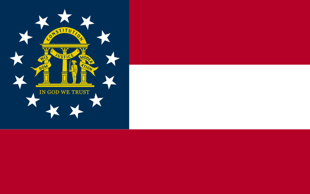 Flag of Georgia (U.S. state)