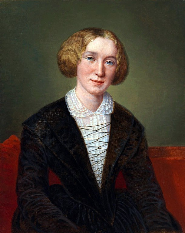 Mary Anne Evans/George Eliot (François D'Albert Durade)