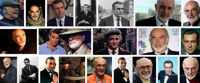 Sean Connery Collage