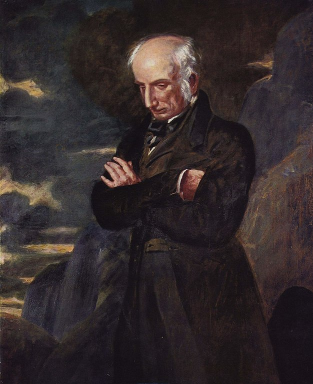 William Wordsworth on Helvellyn by Benjamin Robert Haydon